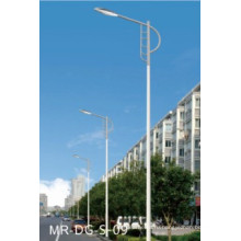 Солнечный уличный свет приведенный в посте 5м с одиночной рукояткой