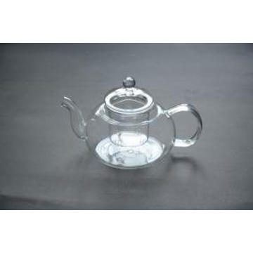 Promotional Wholesale High Capacity Glass Teapot to Boil Water