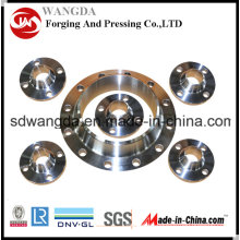 Stainless Steel Welding Plate Flange ANSI B16.5 (AISI 304/316L/321/310S)