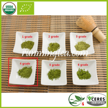 Polvo orgánico de té verde Matcha