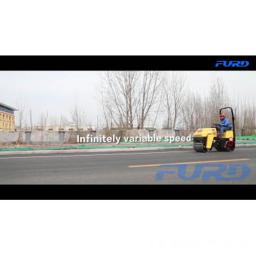 Wholesale 1 Ton Hydraulic Double Drum Road Compactor Roller
