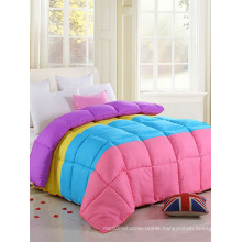King Bed Wholesale 100% Polyester Patchwork Quilt F1838