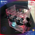 China-Fabrik-neuer Entwurfs-Acryl, der Lippenstift-Turm dreht