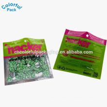 2016 personalizado iscas de plástico macio isca embalagem saco de pesca