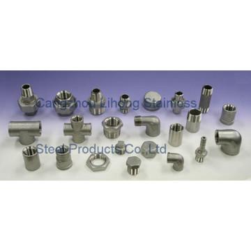 """1/8 """"aço inoxidável 304 DIN2999 150lb Pipe Fitting"""