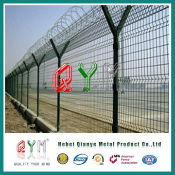 Panneau de clôture de sécurité à la frontière / panneau de clôture d'aéroport
