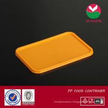 Plastic Food Container Lid (sk-lid orange)