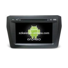 Vier Kern! Android 6.0 Auto-DVD für Suzuki Swift 2017 mit 8 Zoll kapazitiven Bildschirm / GPS / Spiegel Link / DVR / TPMS / OBD2 / WIFI / 4G
