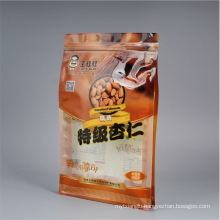 Airtight Resealable Top Zipper Closure Bag Packaging Bags Food Package Coffee Stand up Pouch LDPE Gravure Printing Disposable