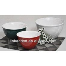 ceramic flanging bowl