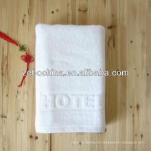 Logotipo personalizado disponível toalha jacquard de algodão por atacado de 100 por cento