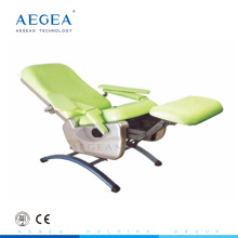 AG-XS104 Multifonction sang collection phlebotomy équipement hôpital réglable manuel chaise
