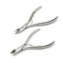 Factory Price Stainless Steel Sanding Finish 1/2 Jaw Cuticle Cutter
