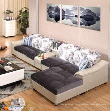 Custom Impreso Moda Nuevo Diseño Sofá Tela