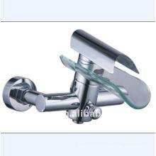 Водостойкий стеклянный смеситель для ванной (YN5555-Bath)