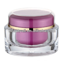 50g Oval Cosmetic Cream Packaging PMMA Jar