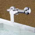 Torneira para lavatório de manípulo único com torneira para duche de parede