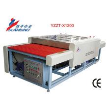 lavadora de vidrio plano de alta eficiencia de trabajo YZZT-X1200