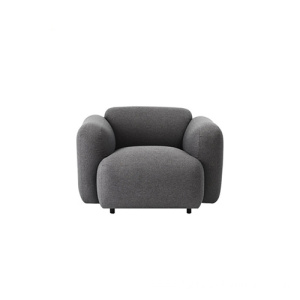 Normann Swell Armchair 1 Seater Fabric Sofa
