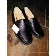 Männer Leder Runde Zehe Schuhe Footware Injection Adult Work