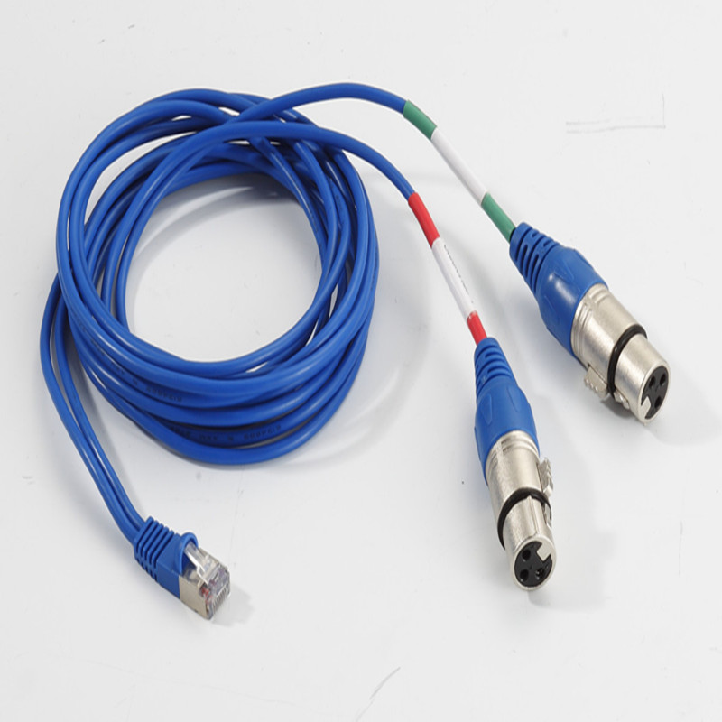 Rj45 To Xlr Jack Cable