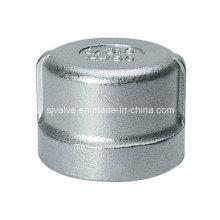 Stainless Steel Threaded Round Cap