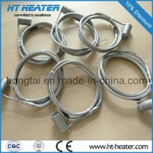 Calentador de canal caliente de bobina de cable