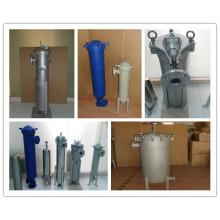 Stainless Steel Bag Filter Housing for RO Water Treatment