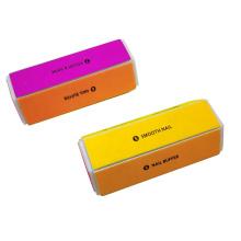 Wholesale Manufacturer 6 Sides EVA Sanding Block Custom Logo Printing Nail Shiner Block
