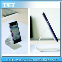 2014 nuevo diseño de acrílico claro soporte de exhibición del teléfono móvil fábrica precio al por mayor