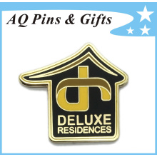 Deluxe Metal Souvenir Brooch Pin in Soft Cloisonne (badge-158)
