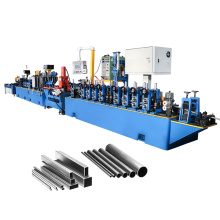 GEI China HF Straight Seam Precision Welded Carbon Stainless Steel Pipe Production Line ERW Tube Mill