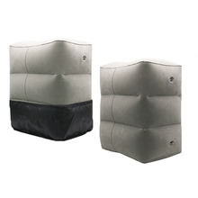 PVC Inflatable foot rest cushion pillow