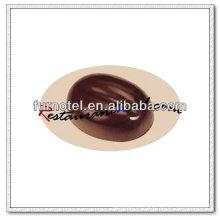 Molde plástico del chocolate de la forma del grano de café de V141PC