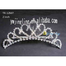 2018 Wedding Tiara Crown para la boda