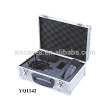 strong aluminum safety equipment case with custom foam insert