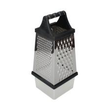 Raladores de caixa de aço inoxidável para cozinha