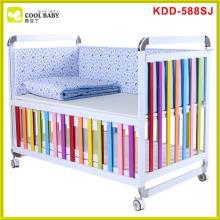 Multifunções NEW Baby Crib cama azul claro para o bebê