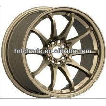 15/16/17/18/20 pulgadas hermosas 8 agujero 139.7 / 114.3mm réplica de la rueda de coche deportivo