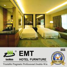 Conjunto confortável de quarto de hotel (EMT-B1202)