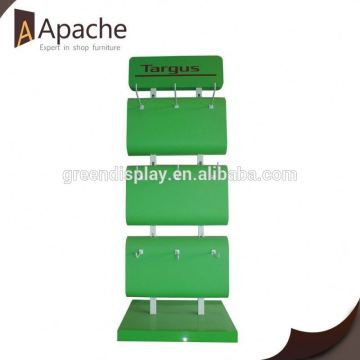 Great durability movable floor book cardboard display