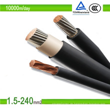 UV- und Ozonbeständigkeit Photovoltaik-Kabel PV-Draht