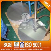 1060 1070 3003 3105 горячекатаный алюминиевый диск для посуды