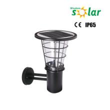 Caliente productos nuevos para el año 2015 CE al aire libre solar LED lámpara de pared