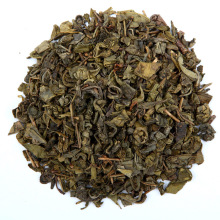tea leaves Chinese organic green tea Gunpowder 9501 9502 9475 loose tea packaging box and gunny bag THE VERT