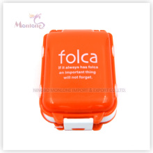 Mini Plastic Pill Box, Rectangular Mini Pill Case