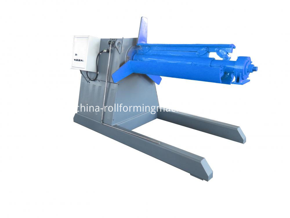 5 tons automatic hydraulic decoiler