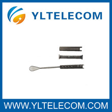 6 Paar Faseroptik Zubehör Edelstahl Telecom Drop Drahtschellen
