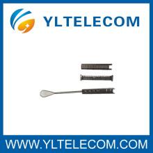 Acessórios de fibra óptica de 6 pares Braçadeiras de aço inoxidável de aço inoxidável
