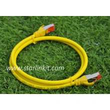 Snagless Booted STP RJ45 Ethernet Network CAT6 Patch Cord